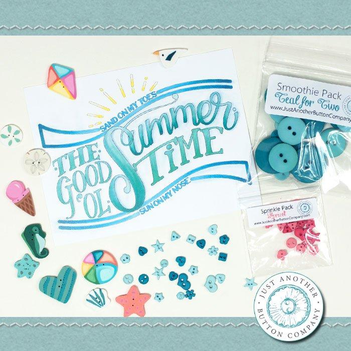 (JABC-BB06)   June Button Lovers Box