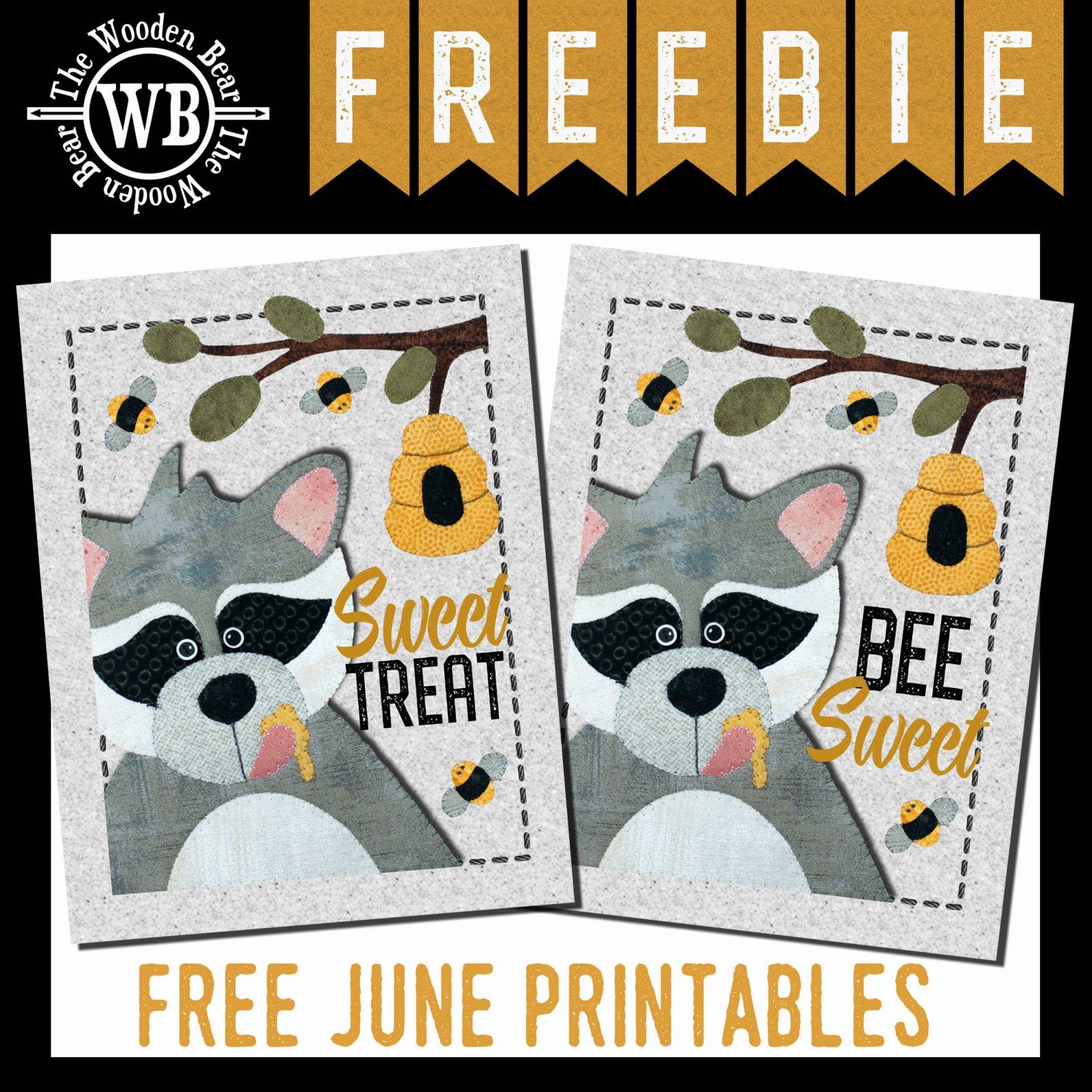 FREEBIE June Printable