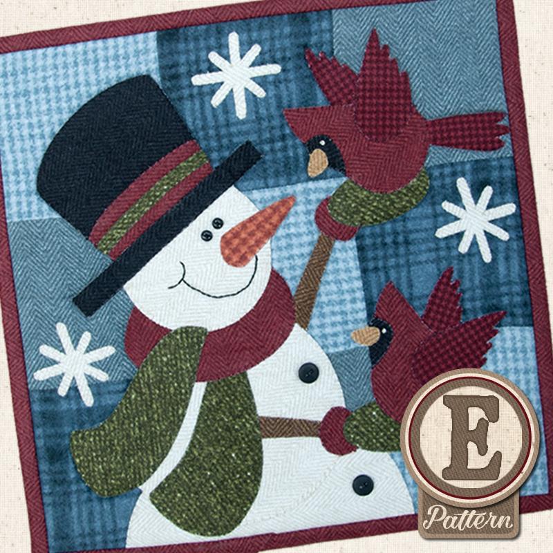 (TWB-EL01)   Epattern L01 January Flurry Friends