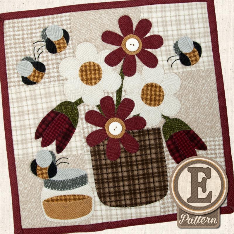 (TWB-EL06)   Epattern L06 June Honey Bee