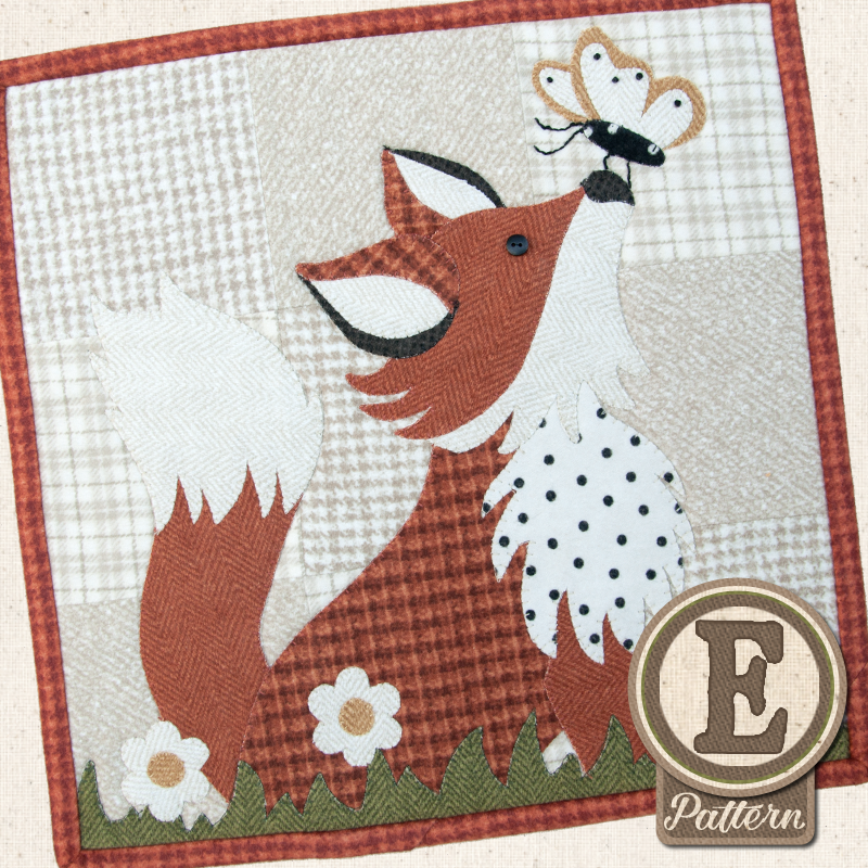 (TWB-EL08)   Epattern L08 August Frolicking Fox