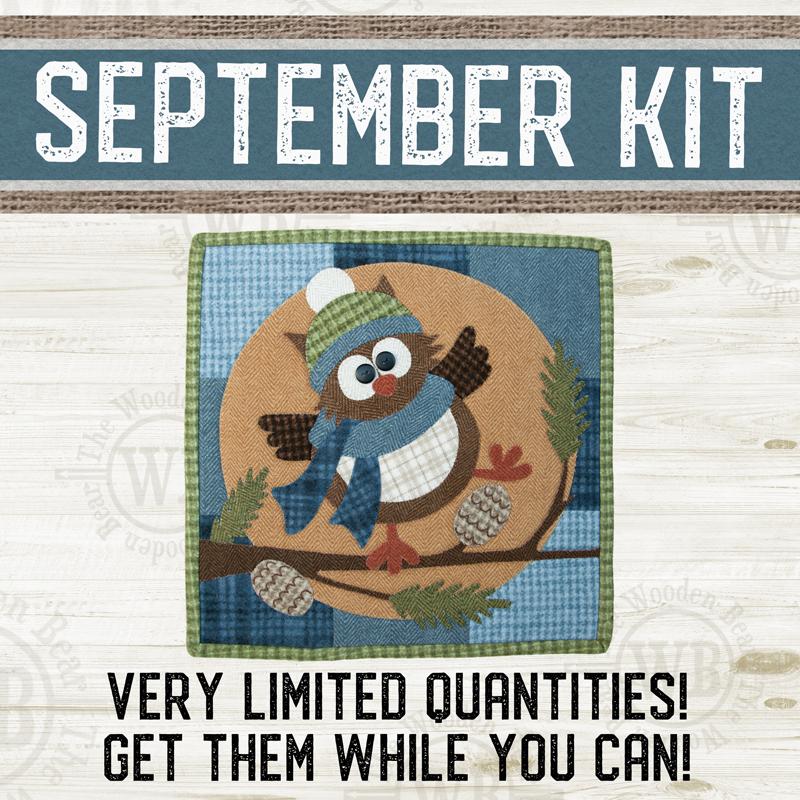 (KIT-L09SEPT) KIT for September Little Quilts Squared