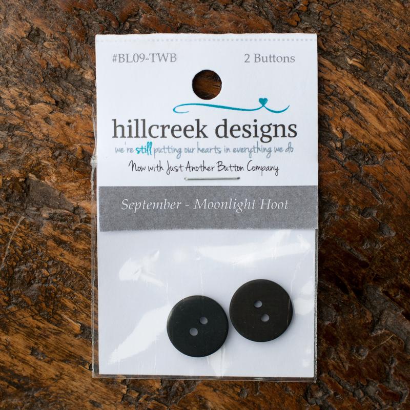 (HCD-BL09TWB)   L09 Button Pack September Moonlight Hoot