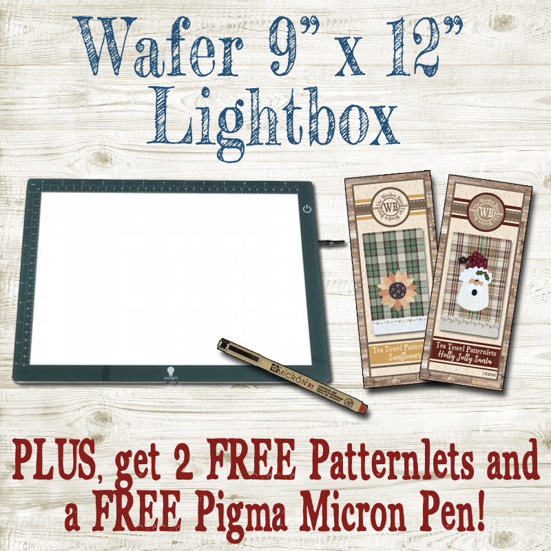 (BUNDLE-Wafer)   Wafer 1 Lightbox 9 x 12