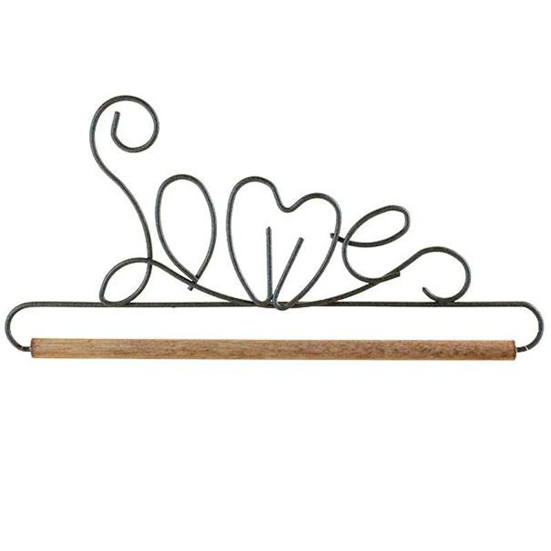 (ACK-34467)   6 Inch Love Hanger