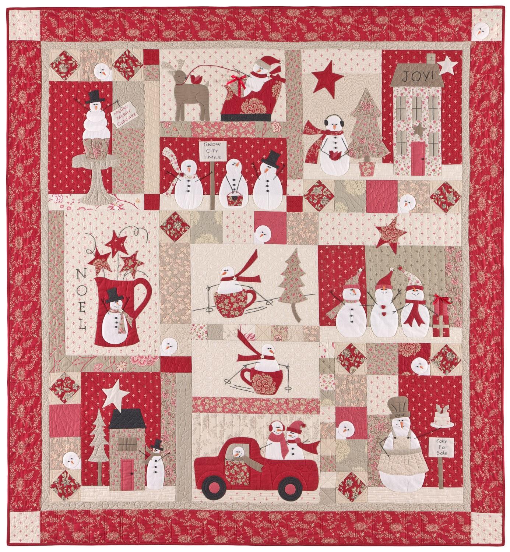 (CHK-BHD2035)   Merry Merry Snowmen Pattern