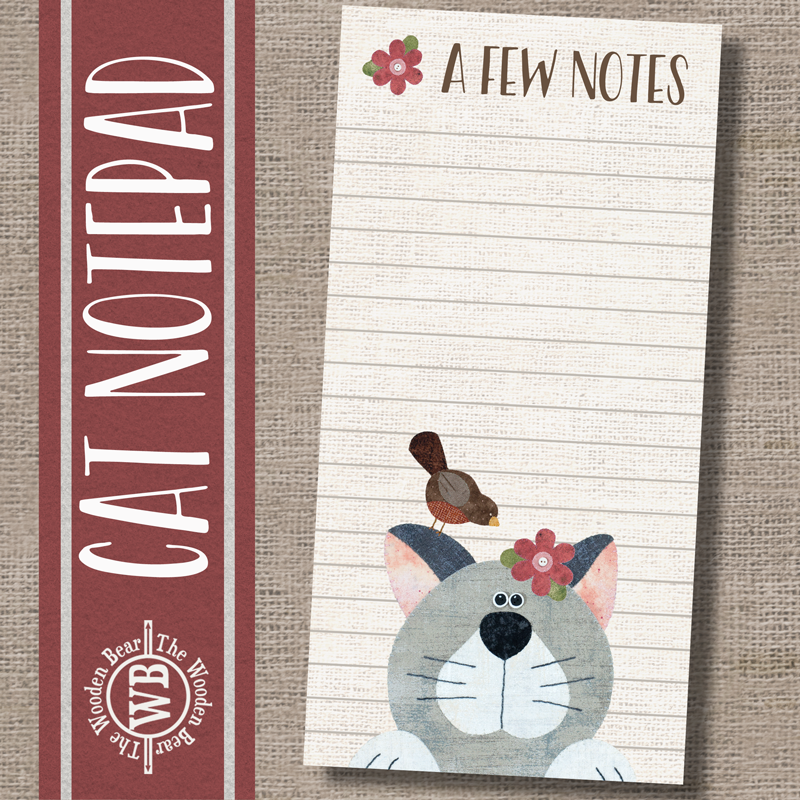 (TWBN16)   Cat Notepad