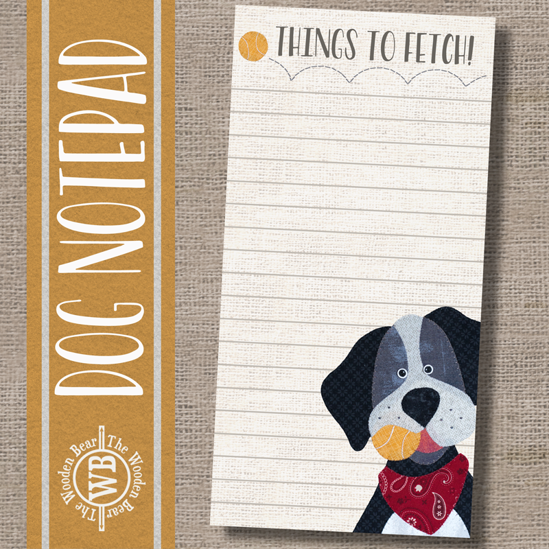 (TWBN15)   Dog Notepad