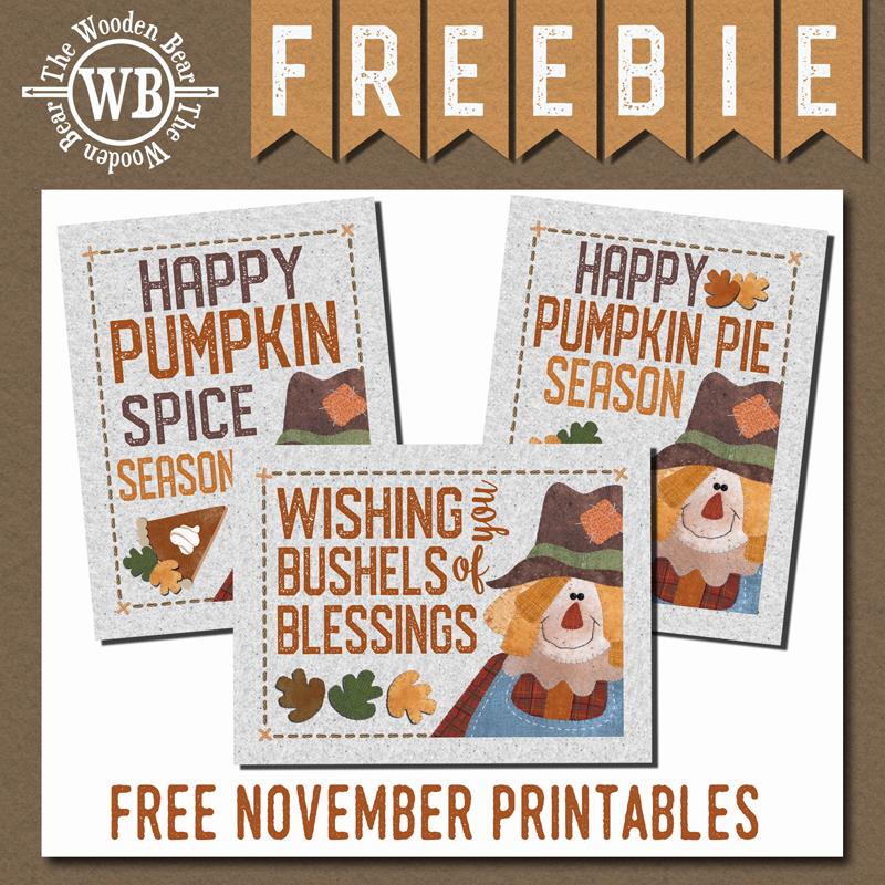 FREEBIE November Printable