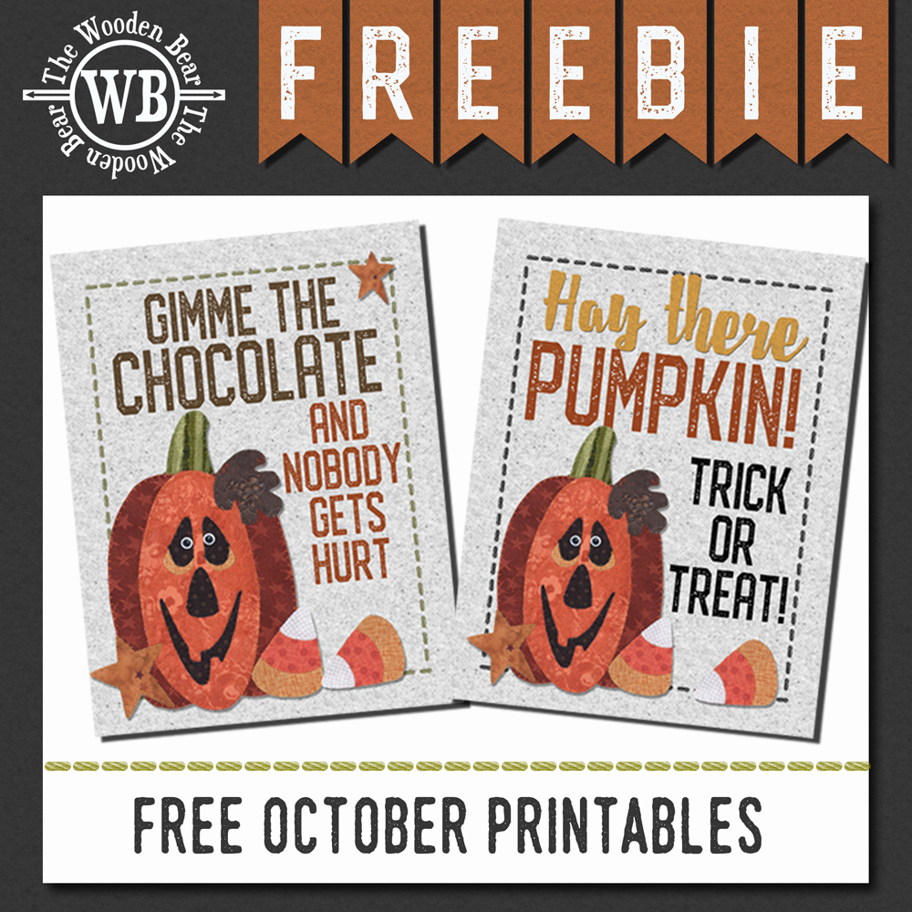 FREEBIE October Printable