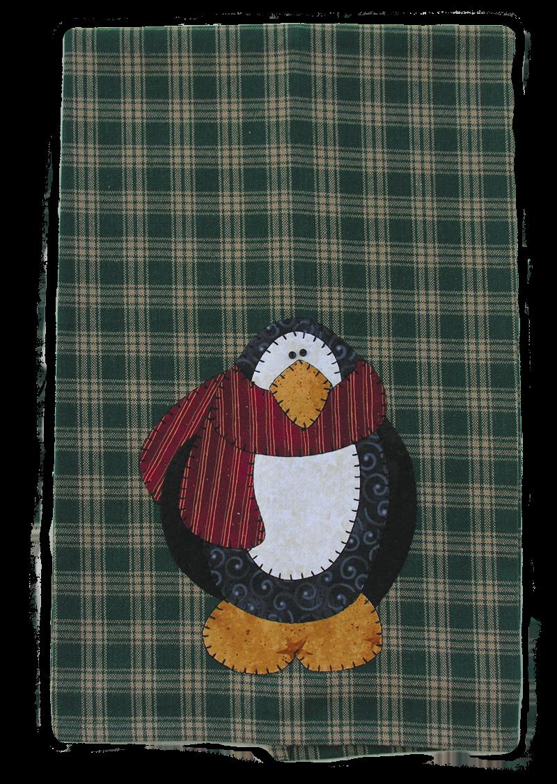 (TWBP02)   Penguin Patternlet