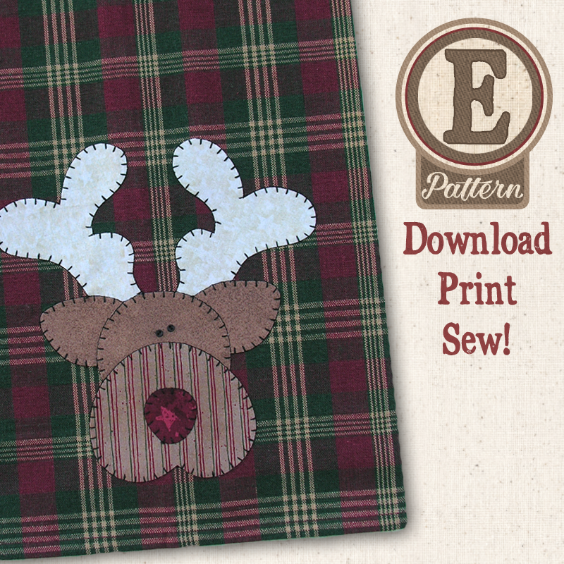 (TWB-EP04)   E-pattern P04 Reindeer Patternlet