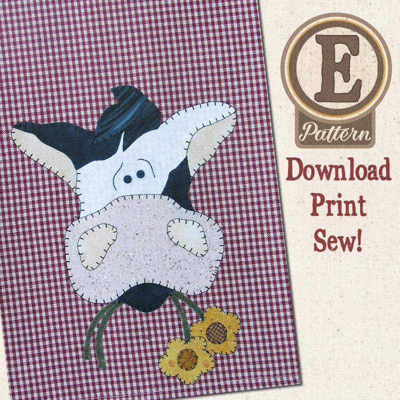 (TWB-EP12)   E-pattern P12 Cow Patternlet