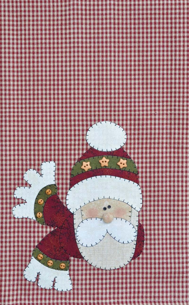 (TWBP17)   Santa Patternlet