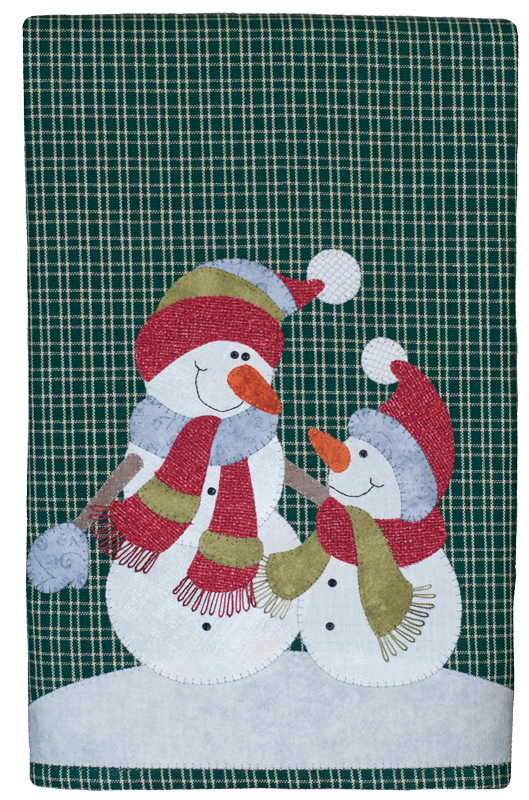 (TWBP28)   Snowman and Son Patternlet