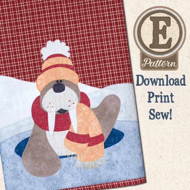 (TWB-EP30)   E-pattern P30 Polar Walrus Patternlet