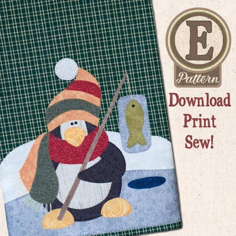 (TWB-EP31)   E-pattern P31 Polar Penguin Patternlet