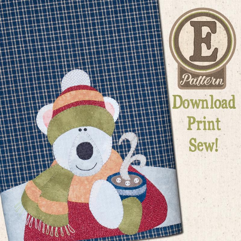(TWB-EP32)   E-pattern P32 Polar Bear Patternlet