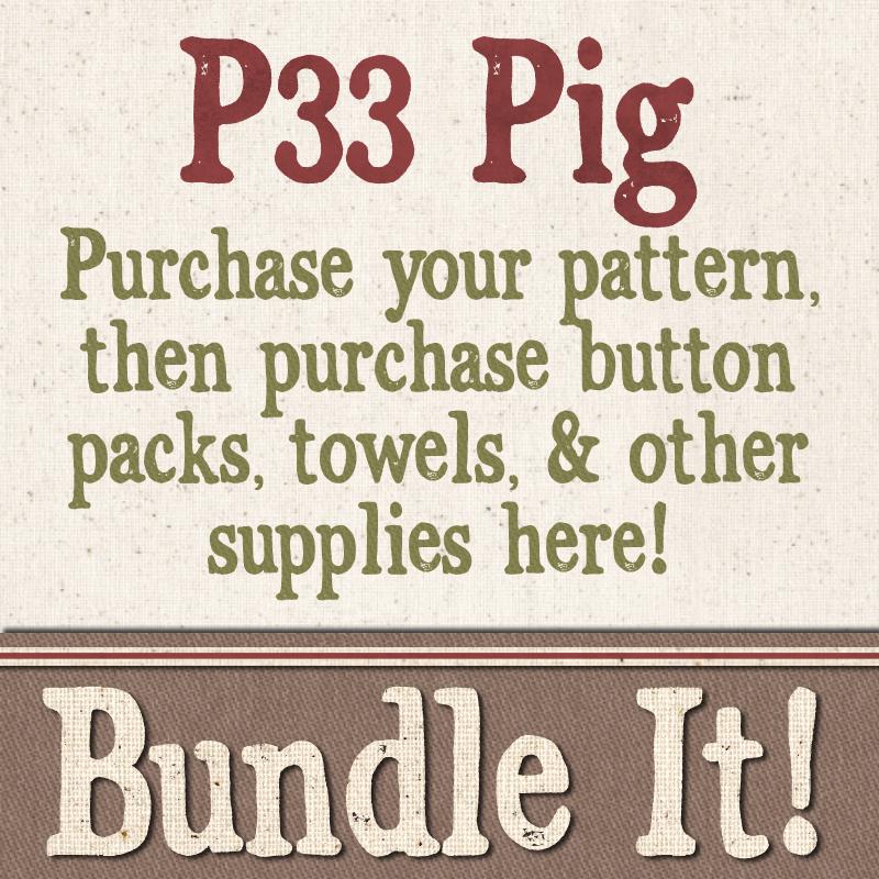 (BUNDLE-P33)   Bundle It for P33 Pig