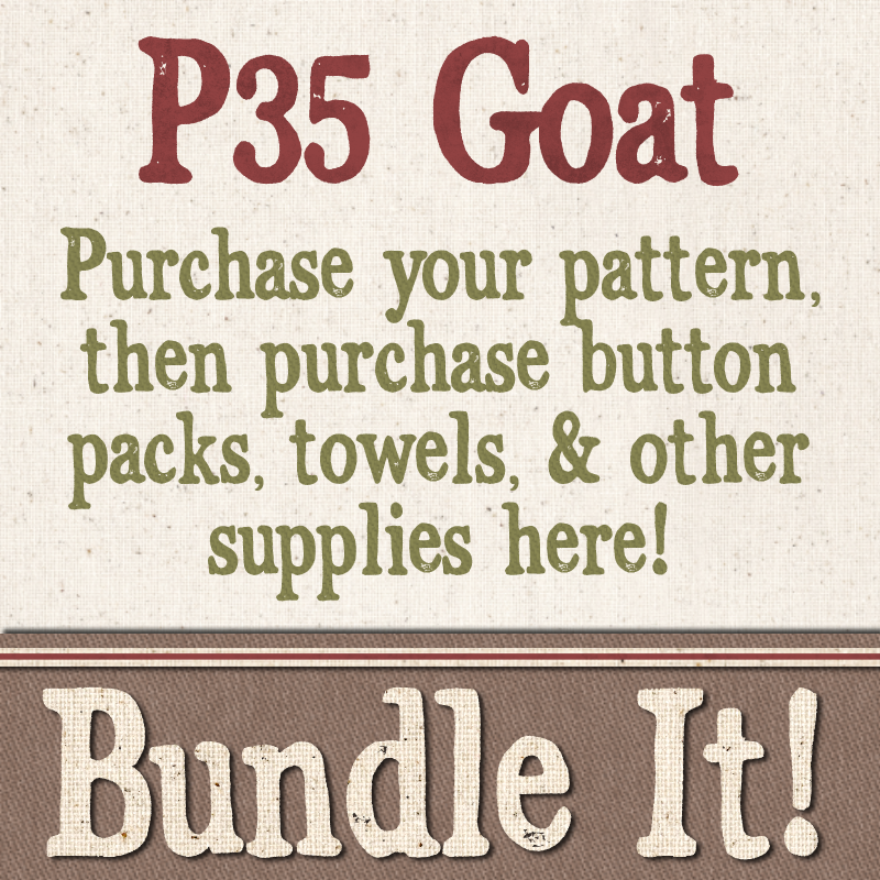 (BUNDLE-P35)   Bundle It for P35 Goat