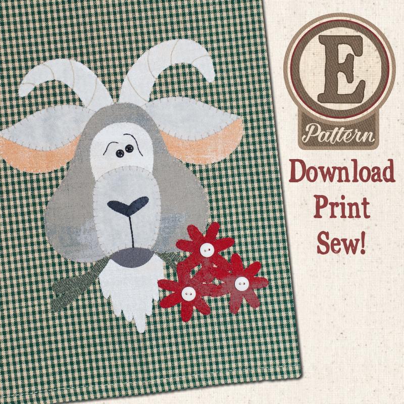 (TWB-EP35)   E-pattern P35 Goat Patternlet