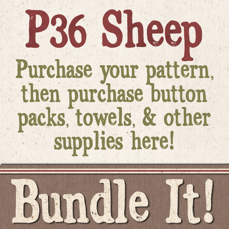 (BUNDLE-P36)   Bundle It for P36 Sheep