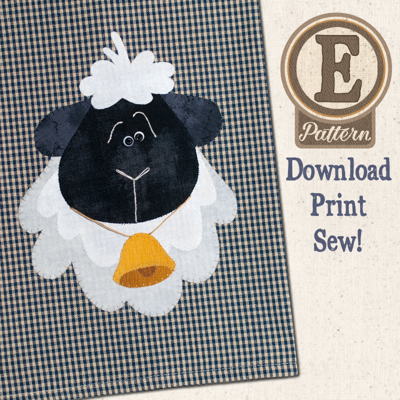 (TWB-EP36)   E-pattern P36 Sheep Patternlet