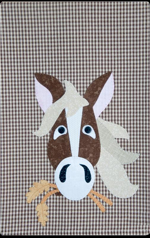 (TWBP37)   Horse Patternlet
