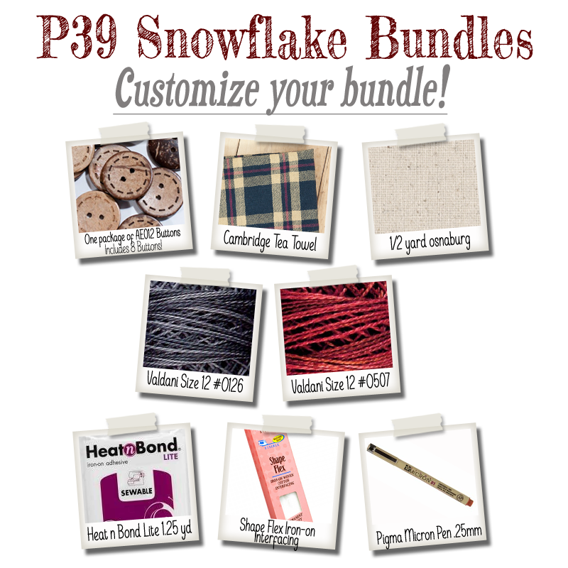 (BUNDLE-P39)   Bundle It for P39 Snowflake