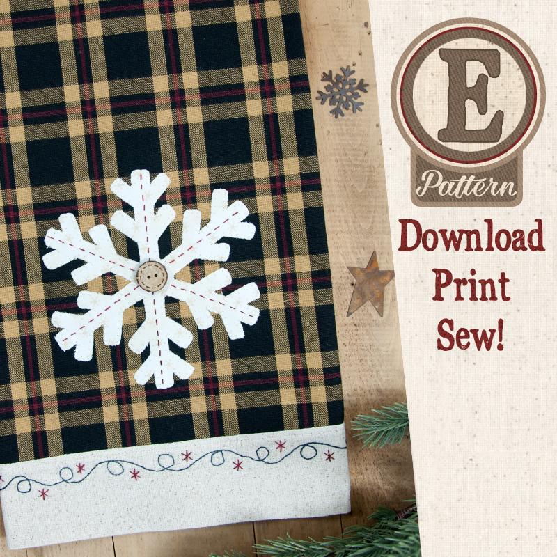 (TWB-EP39)   E-pattern P39 Snowflake Patternlet