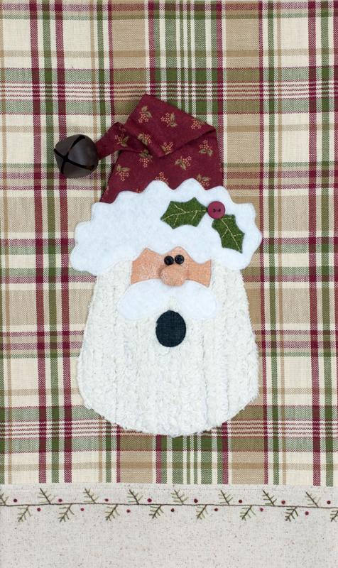 (TWBP40) Holly Jolly Santa Patternlet