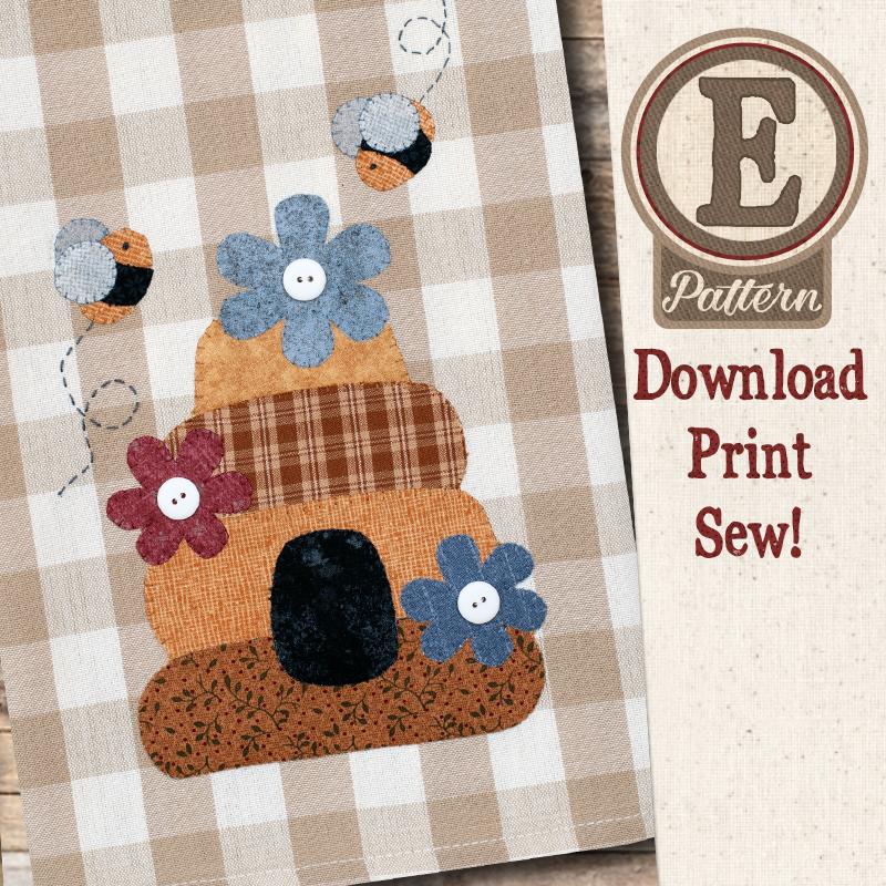 (TWB-EP43)   E-pattern P43 Beehive Patternlet
