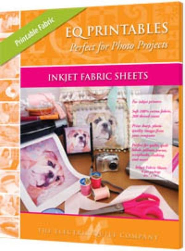 (CHK-P-FAC25)   Printable Inkjet Fabric Sheets - 25 Pack
