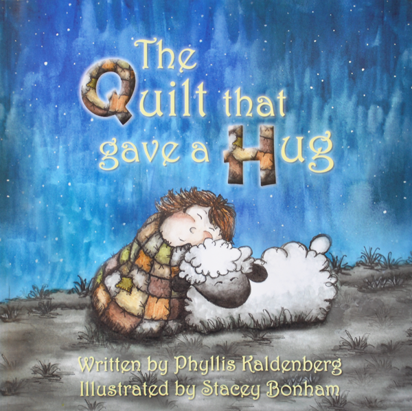 (PK-BOOK1)   Children's Book- The Quilt that gave a Hug