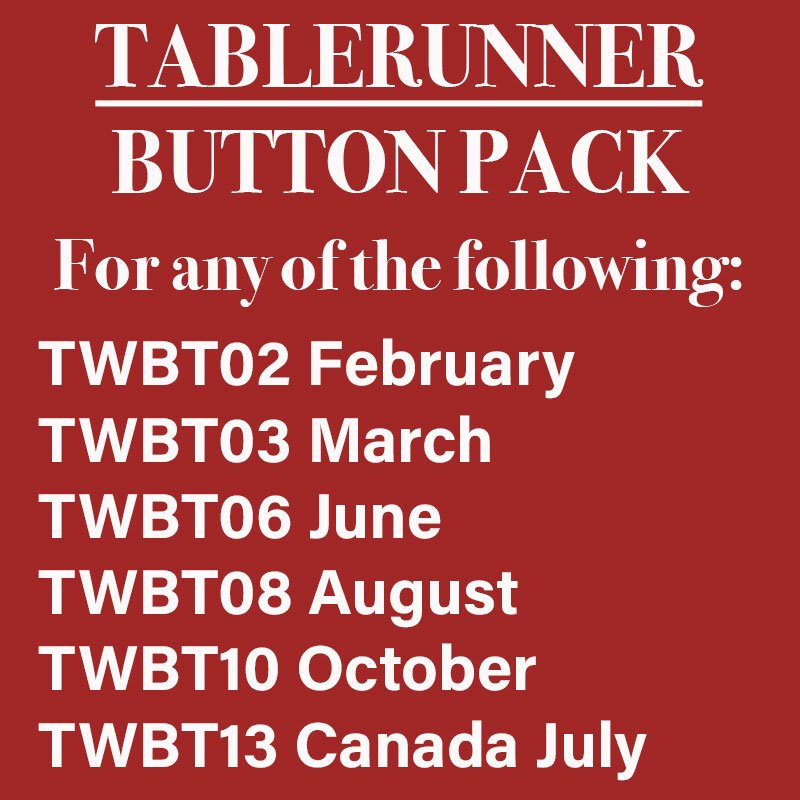 (10379-2)  TABLERUNNER Button Pack for T02, T03, T06, T08, T10, T13