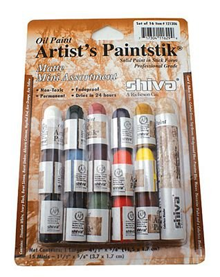 (BR-PSS-121306 )   Shiva Matte Mini Assortment Paintstiks