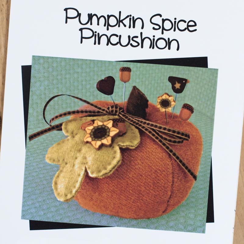 (JABC-P1005)   Pumpkin Spice Pincushion