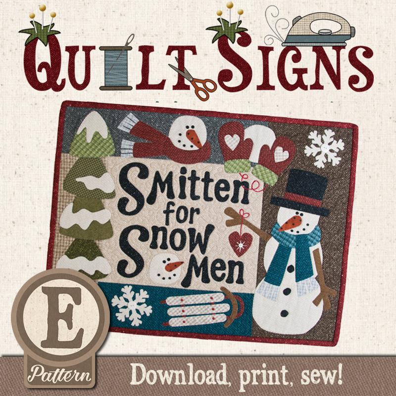 (TWB-EQ03)   Epattern Q03 Smitten for Snowmen