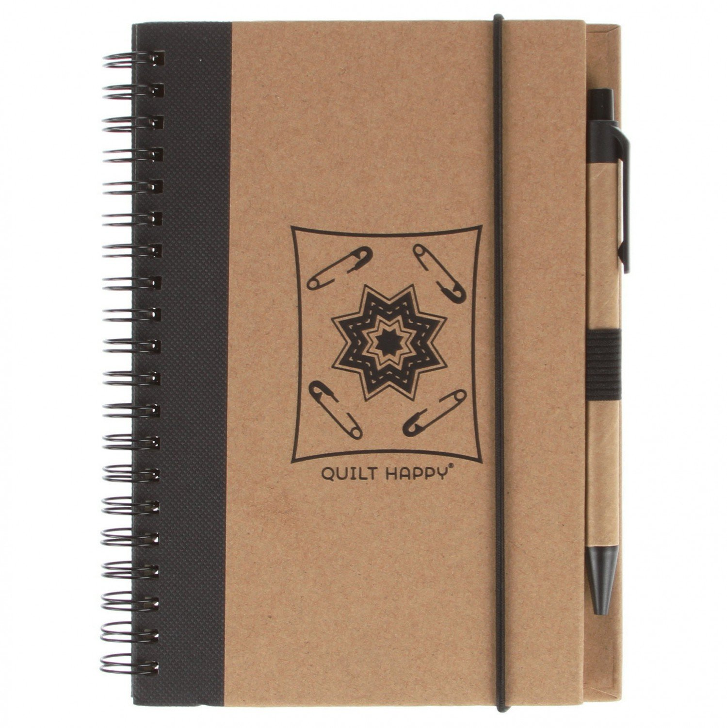(QH302-BA)   Eco Journal with Pen- Black