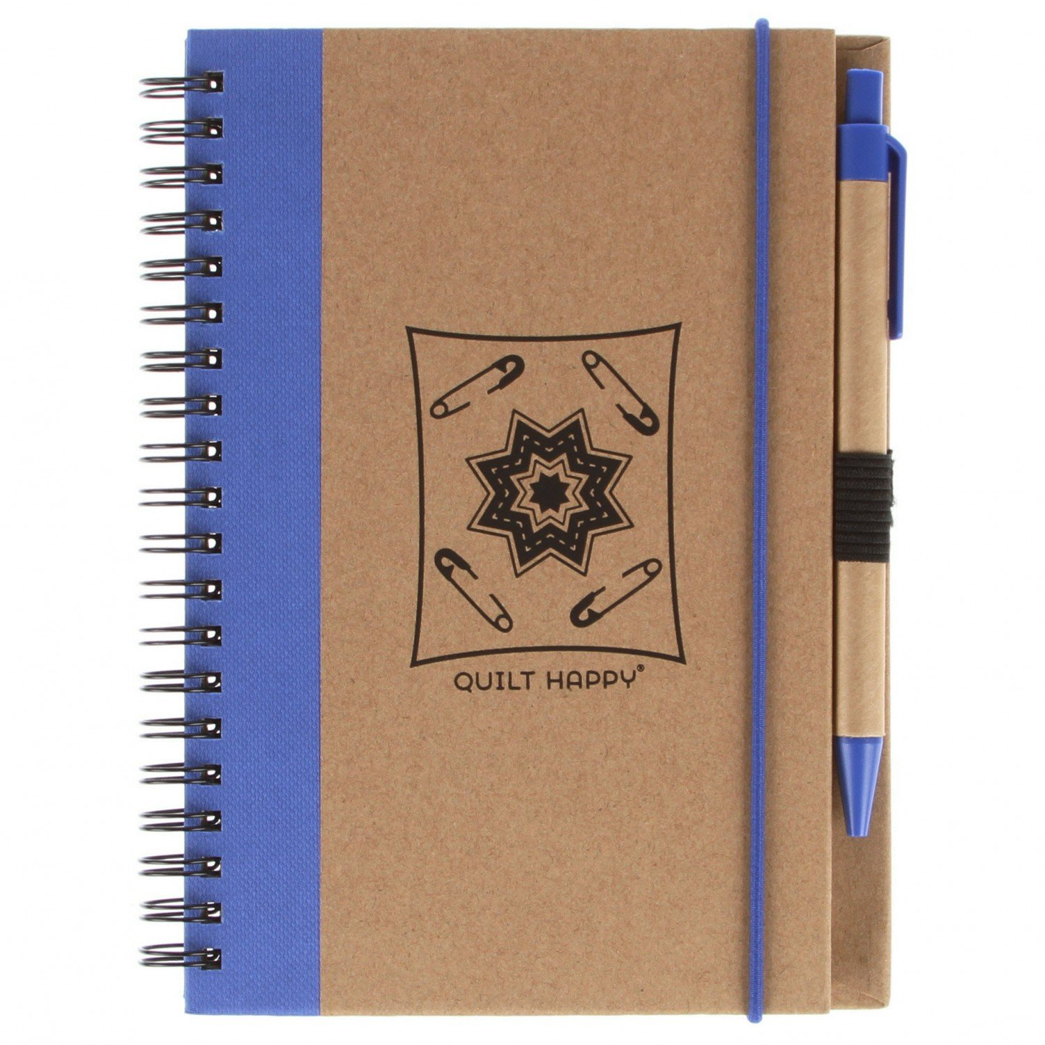 (QH302-BL)   Eco Journal with Pen- Blue