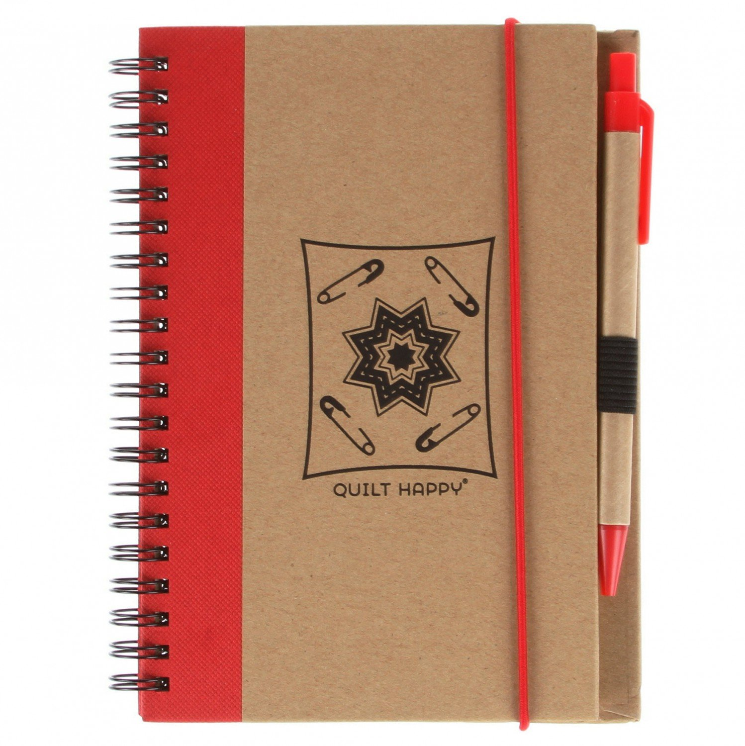 (QH302-RE)   Eco Journal with Pen- Red