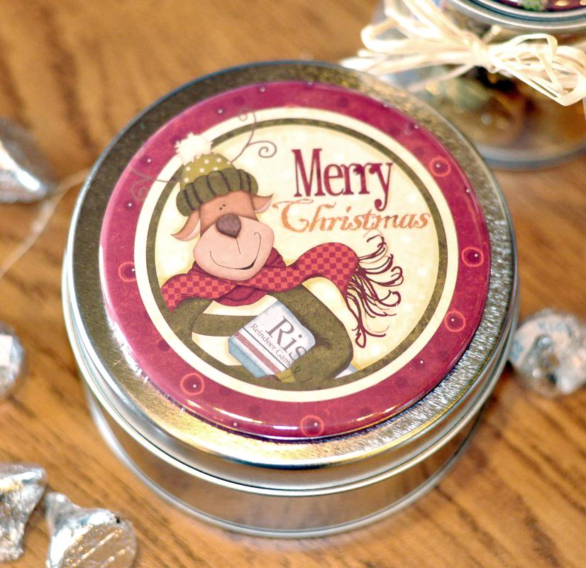 (TWBM011)   Reindeer Games Merry Christmas Magnet
