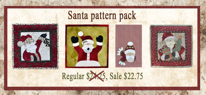 (BUNDLE-Santa)   Santa Pattern Pack