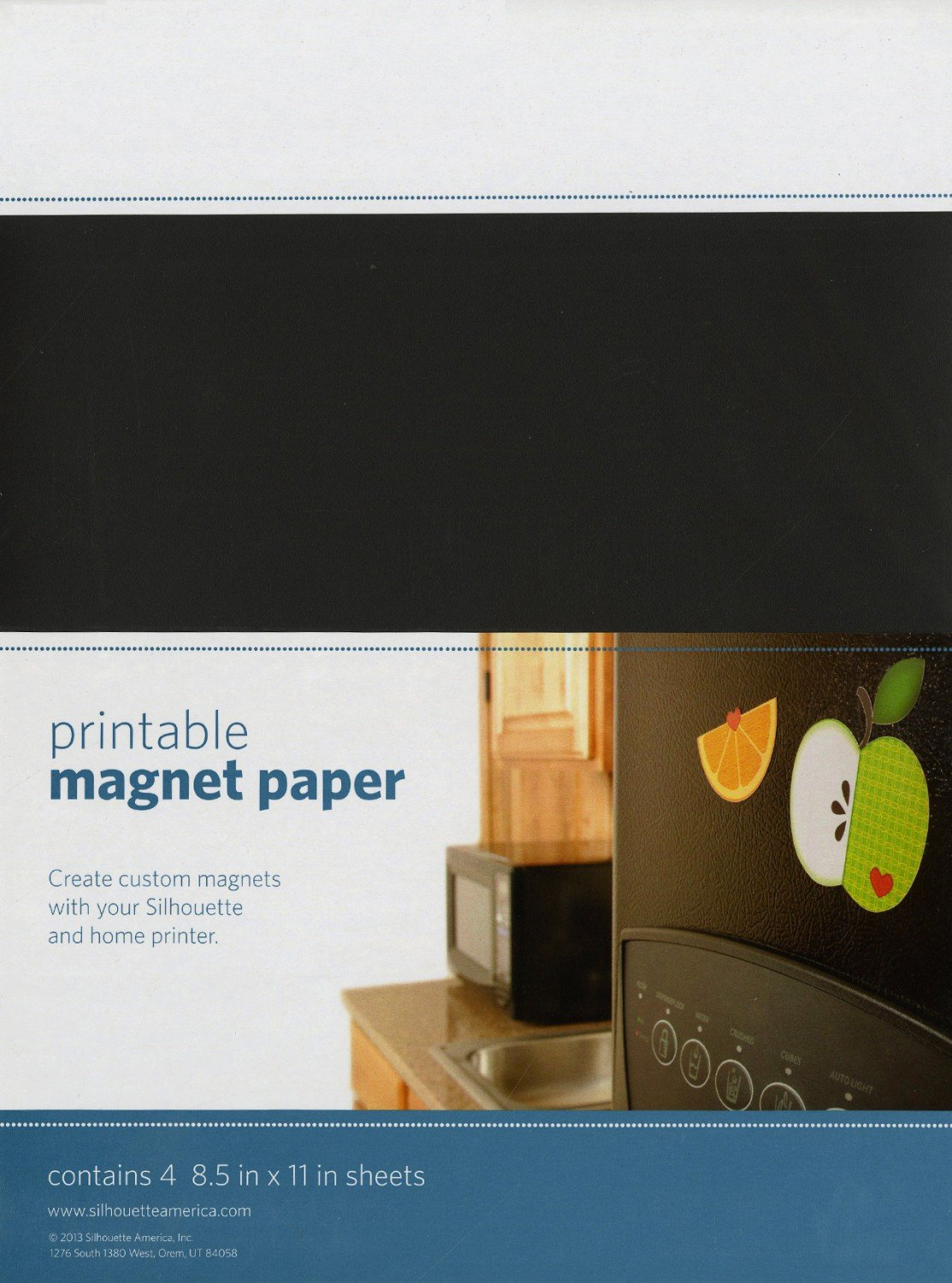 picture about Printable Magnet Sheets called Printable Magnet Sheets - 4 Sheets