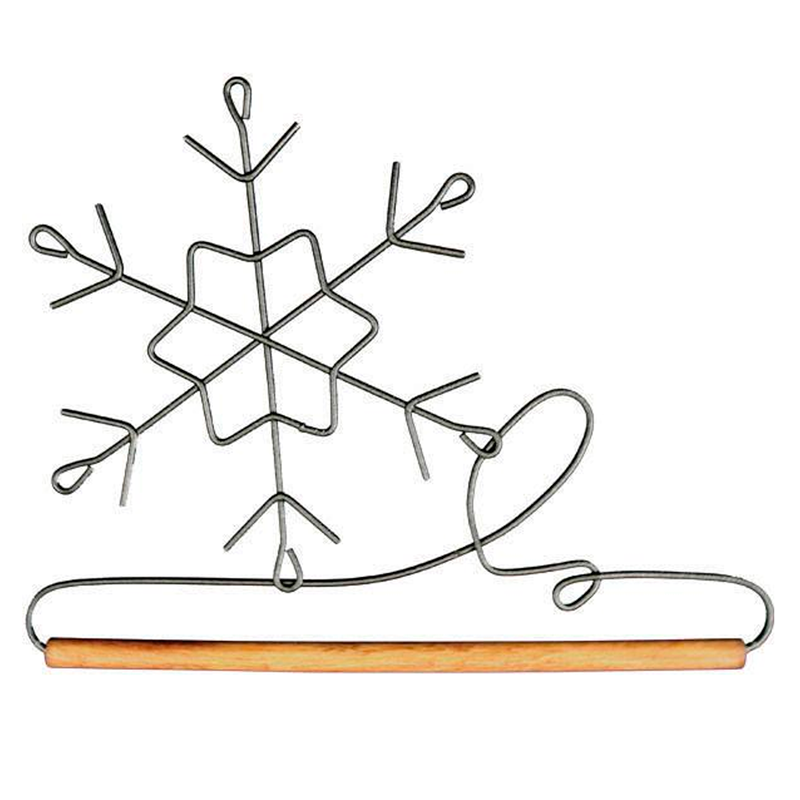 (ACK-86547)   6 Inch Snowflake Hanger