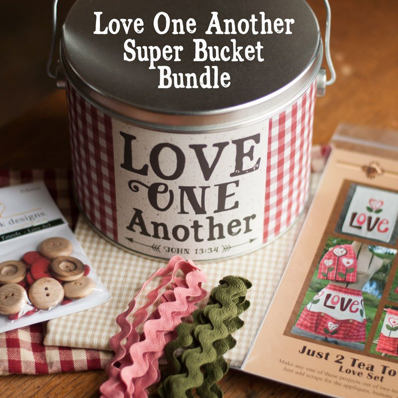 (BUNDLE-LoveSuperBucket)   Love One Another Super Bucket Bundle