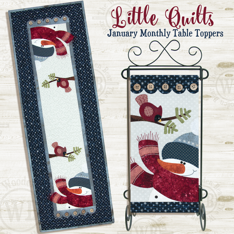 (TWBT01) January Blizzard Buddies PATTERN