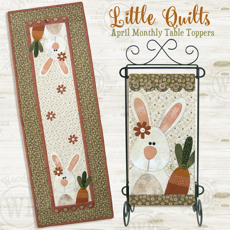 (TWBT04)    April Carrot Tops PATTERN