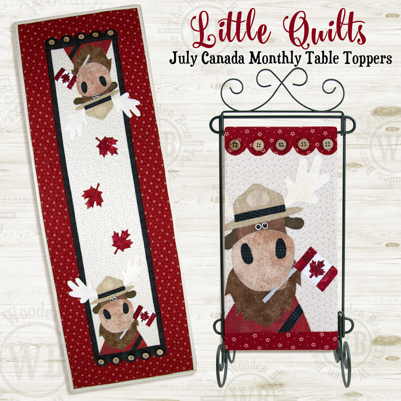 (TWBT13)   July O Canada Moose PATTERN