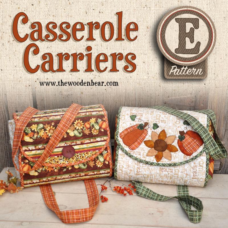 (TWB-Casserole)   E-pattern Casserole Carriers